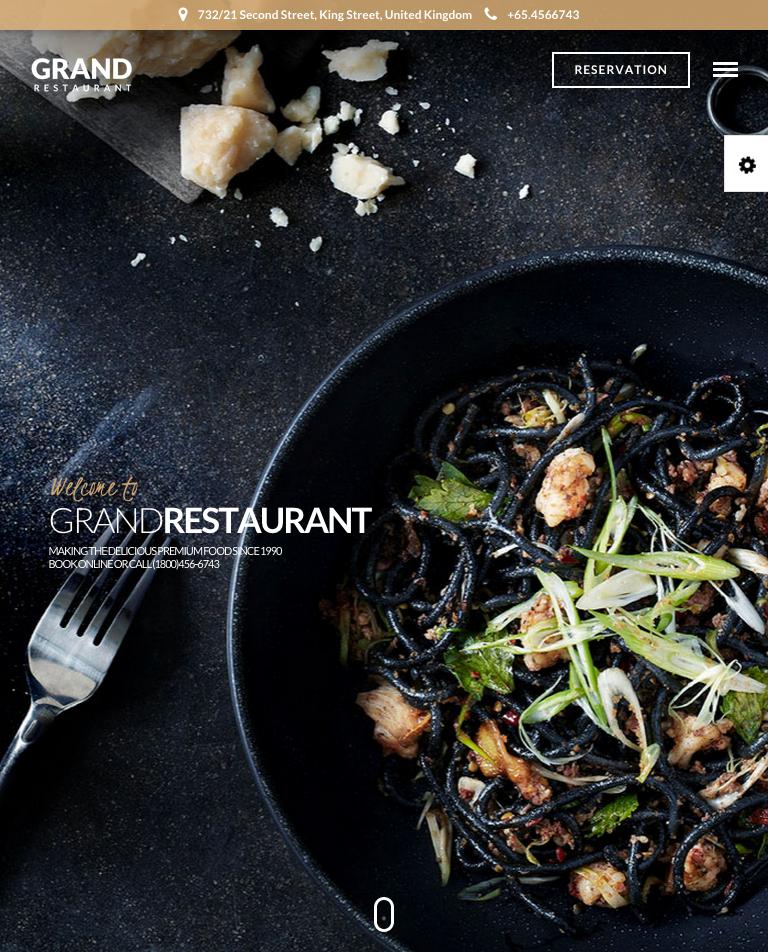 Grand Restaurant   Restaurant Theme   Just another WordPress site